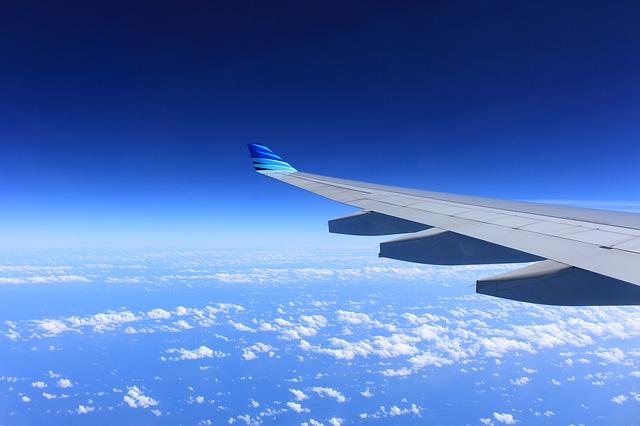 Przelot samolotem