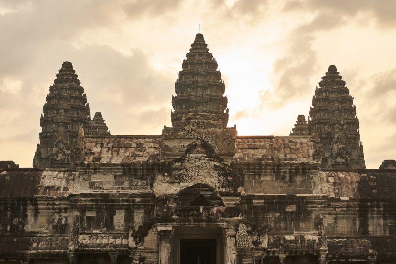 Majestatyczne Angkor Wat