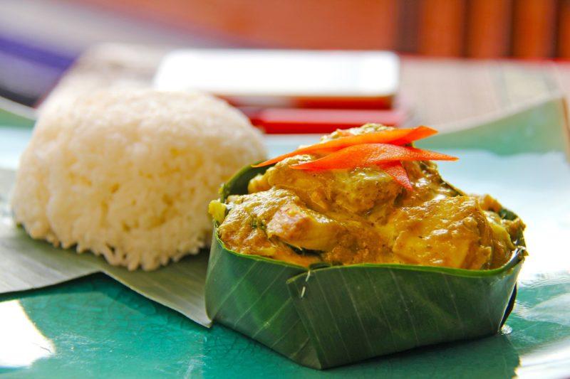 Jedno z popularniejszy dań Kambodży - rybny amok