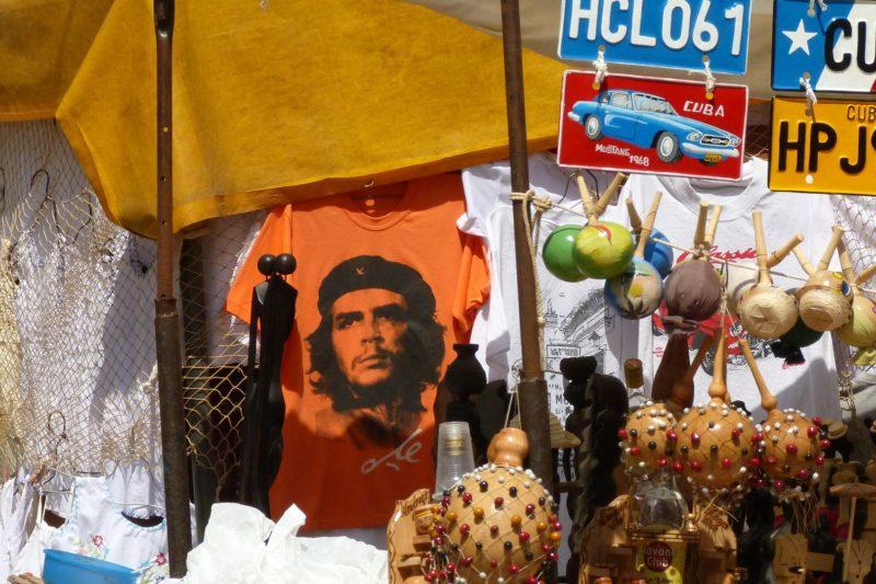 Pamiątki związane z Che Guevarą